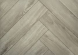 Highgate Luxury Vinyl Grey Smoked Rigid Core Herringbone 123mm x 5/0.55mm LVT Flooring