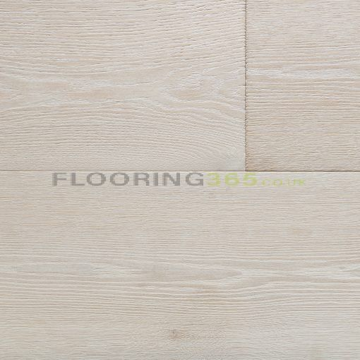 Edmonton Elite Solid White Oak Brushed & Lacquered 150mm x 18mm Wood Flooring