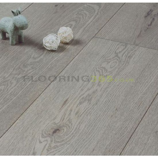 Stockholm Engineered Clay Grey Oak Brushed and Matt Lacquered 189mm x 18/4mm Wood Flooring (Wooden Flooring)