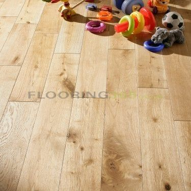 Highgate Engineered Natural Oak Brushed and Oiled 190mm x 14/3mm Wood Flooring