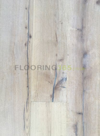Highgate Engineered Smoked Oak White Oiled and Distressed 220mm x 15/4mm Wood Flooring