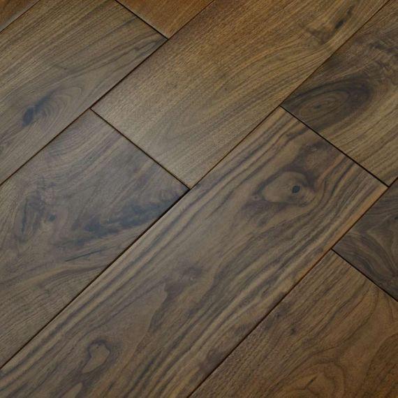 Hillingdon Elite Engineered American Black Walnut 120mm x 14/3mm Wood Flooring