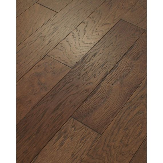 Stockholm Engineered Mocha Brushed and Oiled 125mm x 18/4mm Wood Flooring (Wooden Flooring)
