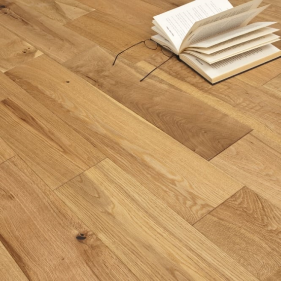 Highgate Engineered Natural Oak Brushed and Oiled 145mm x 10/2.5mm Wood Flooring