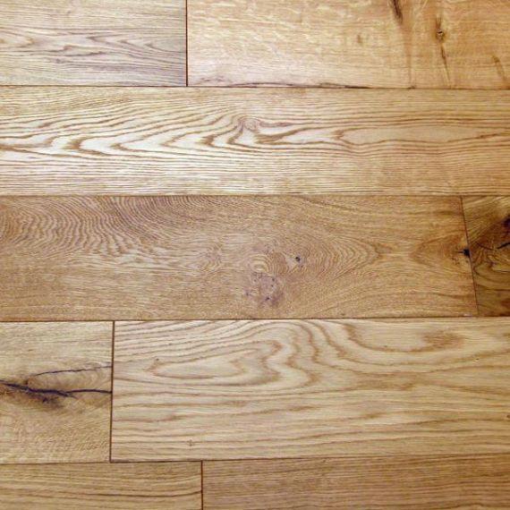 Calder Engineered Natural Oak Brushed and Oiled 150mm x 10/2.5mm Wood Flooring (Wooden Flooring)