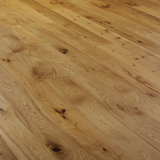 Stockholm Engineered Oak Brushed and Oiled 150mm x 20/4mm Wood Flooring (Wooden Flooring)