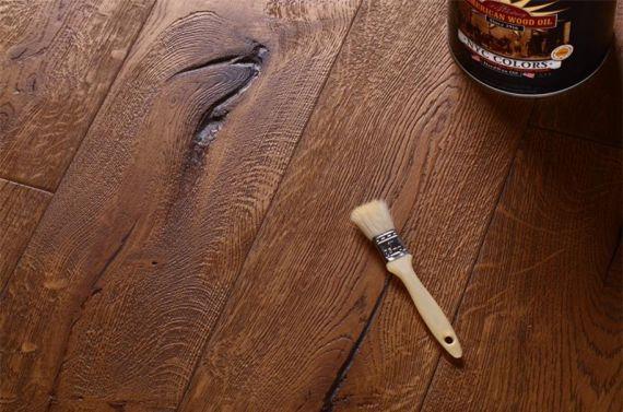 Highgate Elite Engineered Antique Distressed Oak 190mm x 15/4mm Wood Flooring