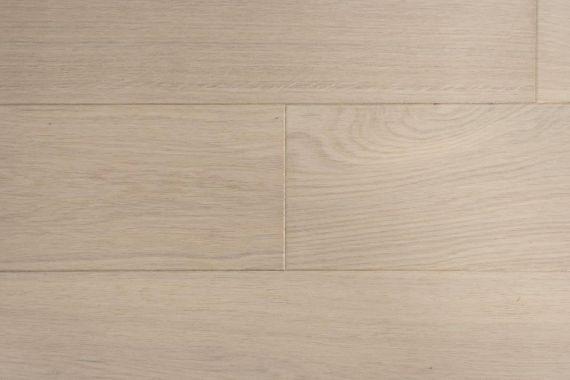 Edmonton Engineered Latte White Oak Brushed & Matt Lacquered Click Lok 180mm x 14/2.5mm Wood Flooring (Wooden Flooring)