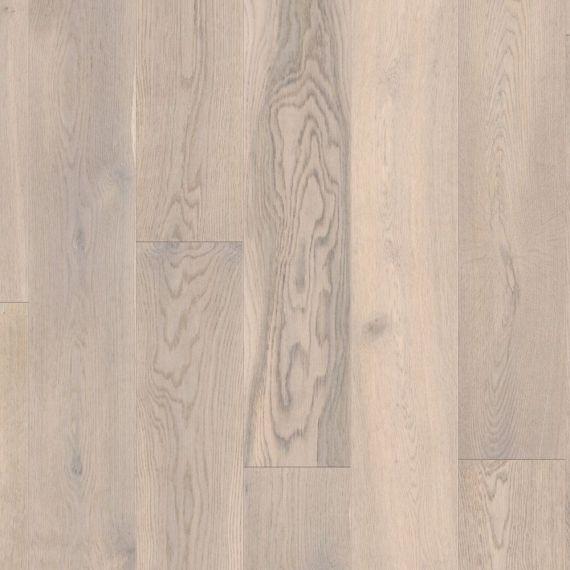 Barnworth Engineered Chalk Grey Oak Brushed & Matt Lacquered Click Lok 189mm x 14/3mm Wood Flooring (Wooden Flooring)