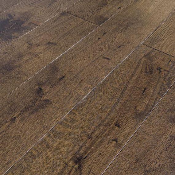 Stockholm Engineered Coffee Oak Lacquered 189mm x 18/4mm Wood Flooring (Wooden Flooring)