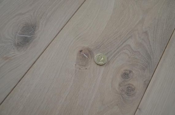 Fyfield Engineered Unfinished French Oak 190mm x 15/4mm Wood Flooring (Wooden Flooring)