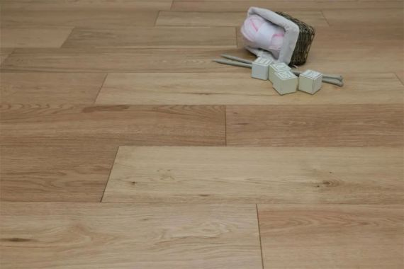 Milano Engineered Natural Oak Brushed and Lacquered Click Lok 183mm x 15/4mm Wood Flooring