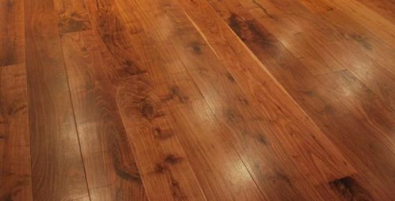 Fyfield Engineered Walnut Effect Oak Brushed and Oiled Click Lok 189mm x 15/4mm Wood Flooring