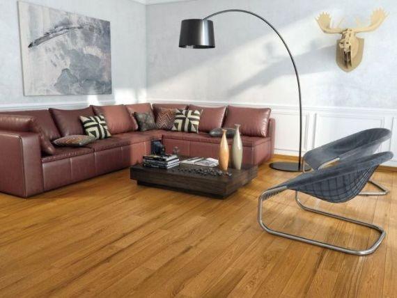 Hillingdon Elite Engineered Golden Oak Oiled 190mm x 20/6mm Wood Flooring