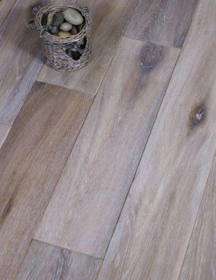 Fyfield Elite Engineered Smoked Oak White Oiled 190mm x 20/6mm Wood Flooring