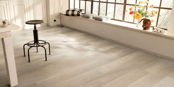 Highgate Engineered Natural Oak Invisible Oil 190mm x 20/6mm Wood Flooring