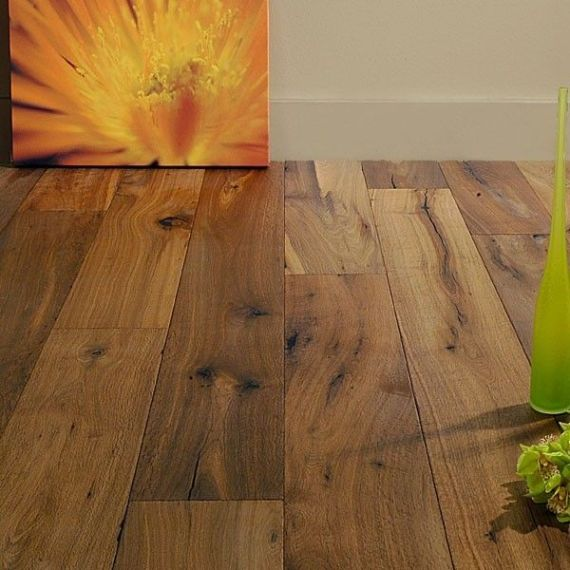 Cressington Elite Engineered Smoked Oak 220mm x 14/3mm Wood Flooring (Wooden Flooring)