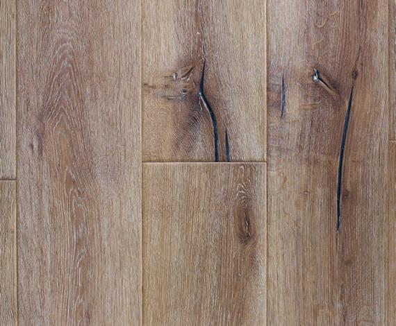 Milano Elite Engineered White Oak Distressed 220mm 15/4mm Wood Flooring (Wooden Flooring)