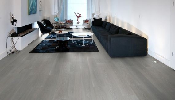 Highgate Elite Engineered Clay Grey Oak Oiled 242mm x 15/4mm Wood Flooring