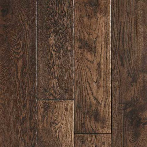 Barnworth Solid Chatsworth Oak Handscraped and Lacquered Rustic 125mm x 18mm Wood Flooring (Wooden Flooring)
