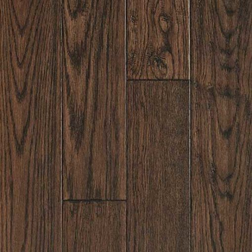Barnworth Solid Hardwick Oak Rustic Handscraped and Lacquered 125mm x 18mm Wood Flooring (Wooden Flooring)