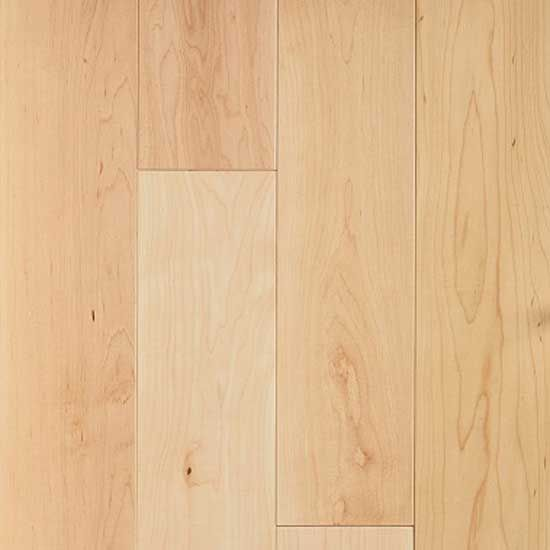 Barnworth Solid Canadian Maple Lacquered **PRIME** 125mm x 20mm Wood Flooring (Wooden Flooring)