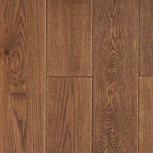Barnworth Solid Hatfield Oak Rustic Handscraped and Lacquered 150mm x 18mm Wood Flooring (Wooden Flooring)