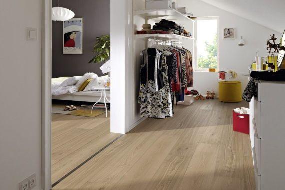 Meister HD300 Lindura Crema Oak Brushed & Matt Lacquered 270mm x 11/0.6mm Wood Flooring (Wooden Flooring)
