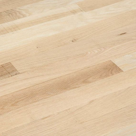 Barnworth Solid Unfinished Oak 114mm x 20mm Wood Flooring