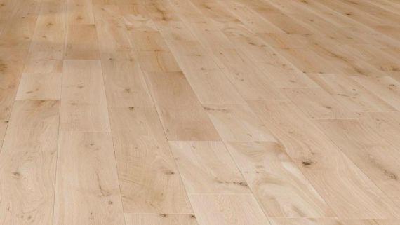 Barnworth Solid Oak Unfinished 140mm x 20mm Wood Flooring