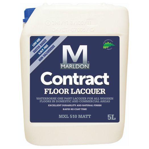 Marldon Contract Floor Professional Floor Lacquer Satin