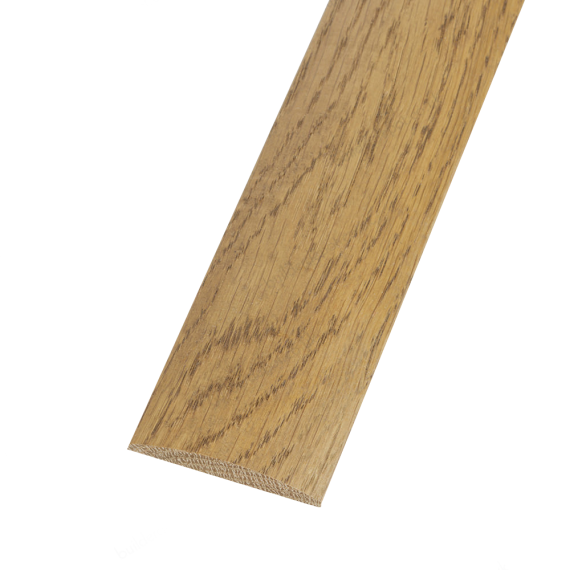 Smoked Solid Oak Coverstrip To Complement Smoked Solid Oak Flooring 3m Length