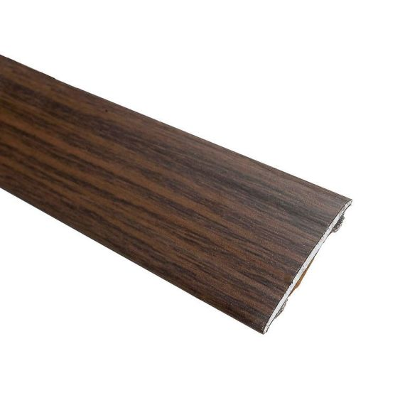 Walnut Stained Solid Oak Coverstrip To Complement Walnut Flooring 3m Length