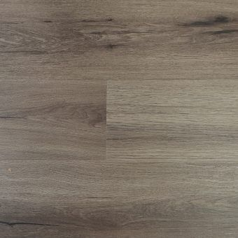 Highgate Luxury Vinyl Grey Dark Rigid Core 176mm x 5/0.5mm Embossed LVT Flooring