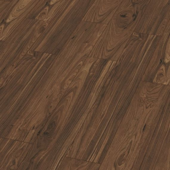 Kronotex Exquisite 8mm Tuscany Walnut Laminate Flooring