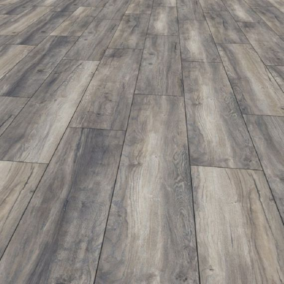 Kronotex Amazone 10mm Harbour Grey Oak Laminate Flooring