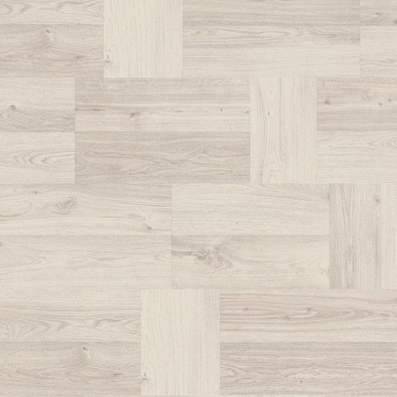 Egger Kingsize 8mm White Clifton Oak Laminate Flooring - EPL057 (Wooden Flooring)