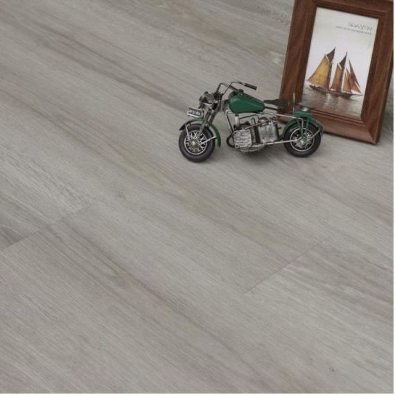 Hillingdon Luxury Vinyl French Grey 178mm x 6.5/0.5mm LVT Flooring
