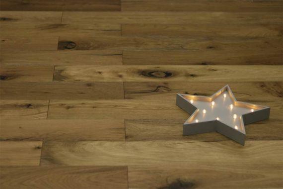 Richmond Engineered Smoked Oak Rustic Oiled 189 mm x 15/4mm Wood Flooring (Wooden Flooring)
