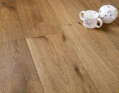 Richmond Engineered Natural Oak Rustic Aged Deep Brushed & Oiled 190mm x 14/3mm Wood Flooring (Wooden Flooring)
