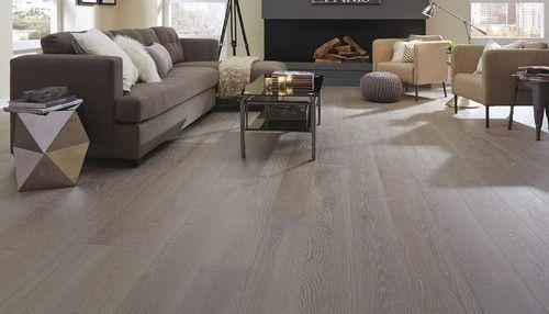 Richmond Engineered Grey Oak Brushed & Oiled 190mm x 14/3mm Wood Flooring (Wooden Flooring)