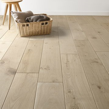 Richmond Engineered Unfinished Oak 240mm x 20/6mm Wood Flooring (Wooden Flooring)