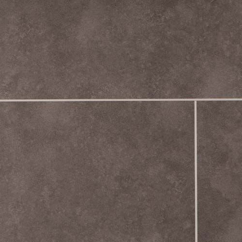 Barnworth Luxury Vinyl Pitch Black Stone Tile 305mm x 2/0.3mm LVT Flooring (Wooden Flooring)
