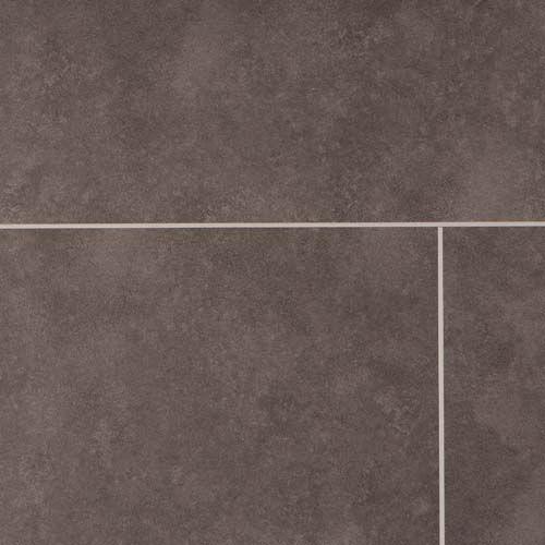 Barnworth Luxury Vinyl Pitch Black Stone Tile 305mm x 2/0.3mm LVT Flooring (Wooden Flooring)