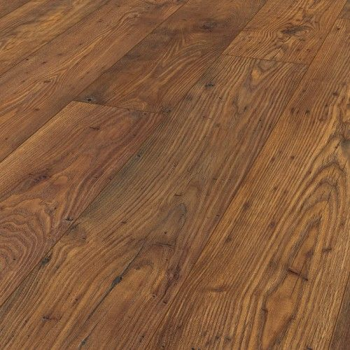 Krono Vintage Classic 10mm Bakersfield Chestnut 4V Groove Handscraped Laminate Flooring