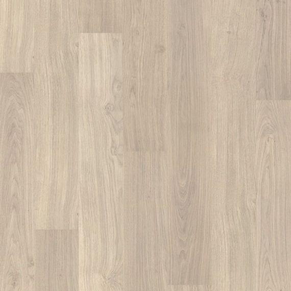 Quickstep Varnished Oak Light Grey 8mm Eligna Laminate Flooring (Wooden Flooring)