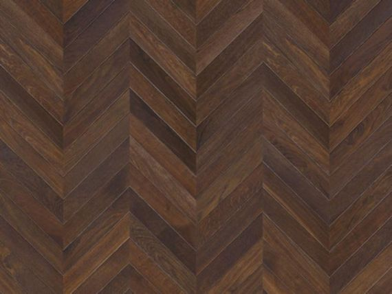 Sawbury Elite Engineered Coffee Lacquered 90mm x 18/4 Chevron Wood Flooring (Wooden Flooring)