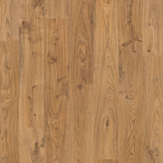 Quickstep Old White Natural Oak 8mm Elite Laminate Flooring (Wooden Flooring)
