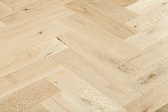Sawbury Elite Engineered White Oak Oiled 120mm x 15/4mm Parquet Wood Flooring (Wooden Flooring)