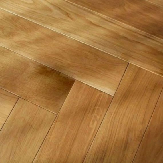Sawbury Engineered Natural Oak Lacquered 125mm x 15/4mm Parquet Wood Flooring
